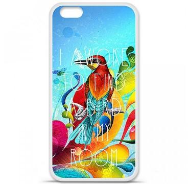 Coque en silicone pour Apple iPhone 6 / 6S - Mocking bird