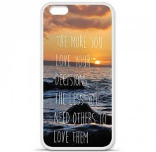 Coque en silicone Apple iPhone 6 / 6S - Sunshine