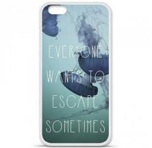 Coque en silicone Apple iPhone 6 / 6S - Escape