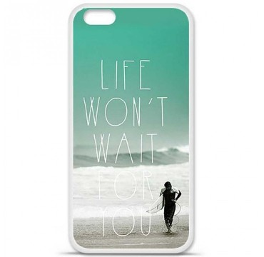 Coque en silicone Apple iPhone 6 / 6S - Surfer