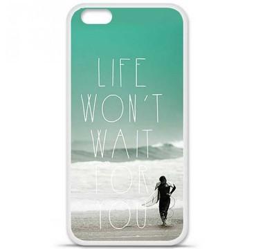 Coque en silicone Apple iPhone 6 / 6S - Surfer