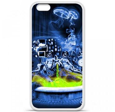 Coque en silicone pour Apple iPhone 6 / 6S - Fontaine