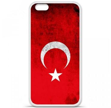 Coque en silicone Apple iPhone 6 / 6S - Drapeau Turquie