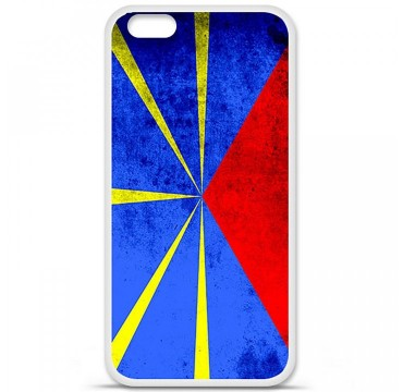 Coque en silicone Apple iPhone 6 / 6S - Drapeau La Réunion