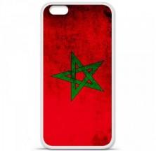 Coque en silicone Apple iPhone 6 / 6S - Drapeau Maroc