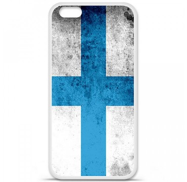 Coque en silicone Apple iPhone 6 / 6S - Drapeau Marseille