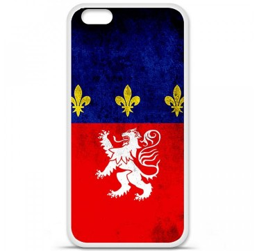 Coque en silicone Apple iPhone 6 / 6S - Drapeau Lyon