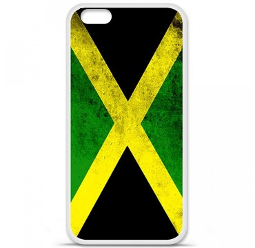 Coque en silicone Apple iPhone 6 / 6S - Drapeau Jamaïque