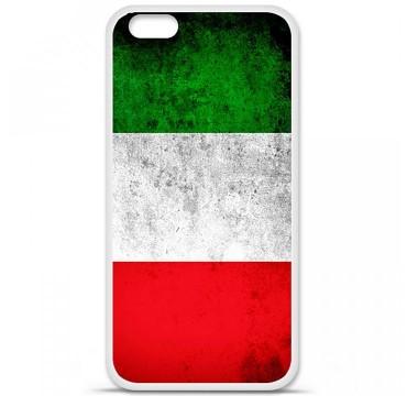 Coque en silicone Apple iPhone 6 / 6S - Drapeau Italie