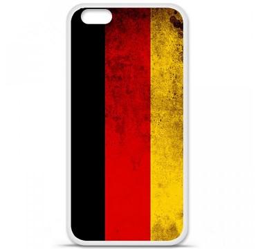 Coque en silicone Apple iPhone 6 / 6S - Drapeau Allemagne