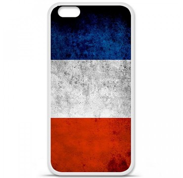 Coque en silicone Apple iPhone 6 / 6S - Drapeau France