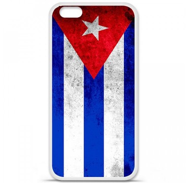 Coque en silicone Apple iPhone 6 / 6S - Drapeau Cuba