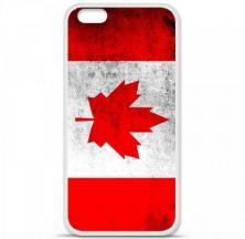 Coque en silicone Apple iPhone 6 / 6S - Drapeau Canada