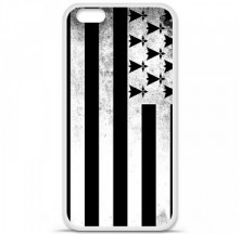 Coque en silicone Apple iPhone 6 / 6S - Drapeau Bretagne