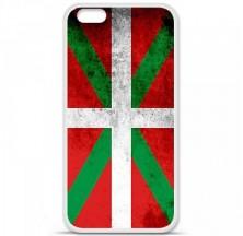 Coque en silicone Apple iPhone 6 / 6S - Drapeau Basque