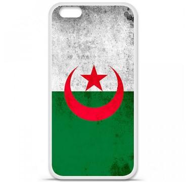 Coque en silicone Apple iPhone 6 / 6S - Drapeau Algérie