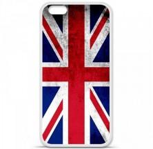 Coque en silicone Apple iPhone 6 / 6S - Drapeau Angleterre