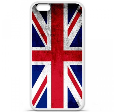 Coque en silicone Apple iPhone 6 / 6S - Drapeau Angleterre