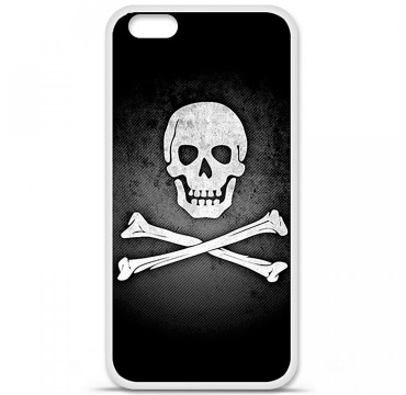 Coque en silicone Apple iPhone 6 / 6S - Drapeau Pirate