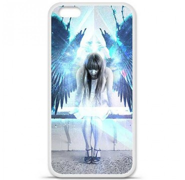 Coque en silicone pour Apple iPhone 6 / 6S - Angel