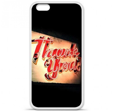 Coque en silicone Apple iPhone 6 / 6S - Thank You