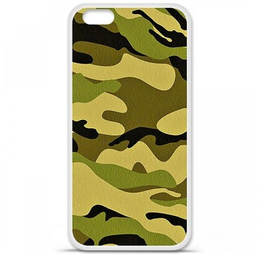 Coque en silicone Apple iPhone 6 / 6S - Camouflage