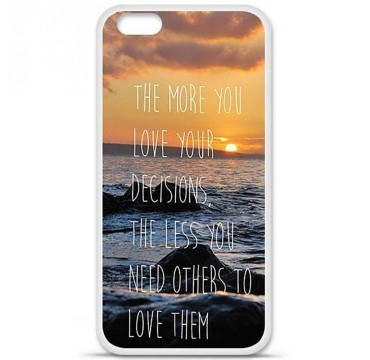 Coque en silicone Apple iPhone 6 Plus / 6S Plus - Sunshine