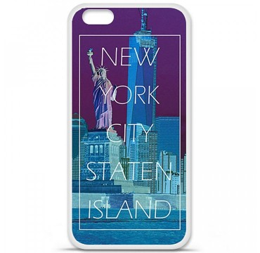 Coque en silicone Apple iPhone 6 Plus / 6S Plus - New york