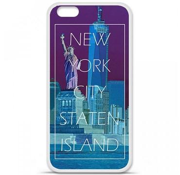 Coque en silicone pour Apple iPhone 6 Plus / 6S Plus - New york