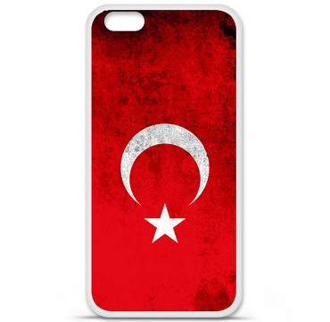 Coque en silicone Apple iPhone 6 Plus / 6S Plus - Drapeau Turquie