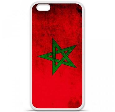 Coque en silicone Apple iPhone 6 Plus / 6S Plus - Drapeau Maroc