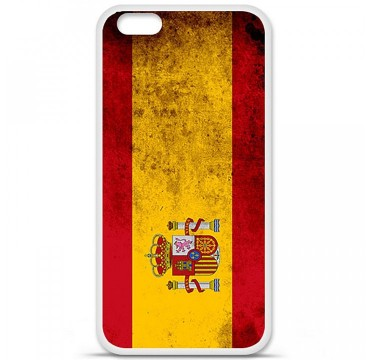 Coque en silicone Apple iPhone 6 Plus / 6S Plus - Drapeau Espagne