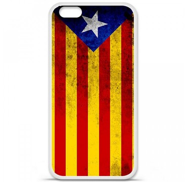 Coque en silicone Apple iPhone 6 Plus / 6S Plus - Drapeau Catalogne