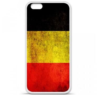Coque en silicone Apple iPhone 6 Plus / 6S Plus - Drapeau Belgique