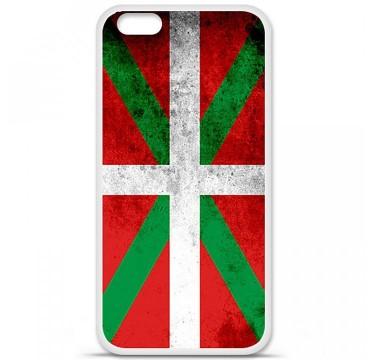Coque en silicone Apple iPhone 6 Plus / 6S Plus - Drapeau Basque