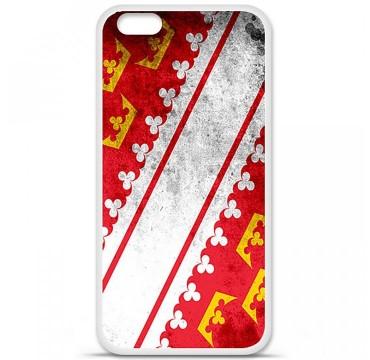 Coque en silicone Apple iPhone 6 Plus / 6S Plus - Drapeau Alsace