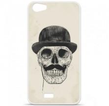 Coque en silicone Wiko Lenny 2 - BS Class skull