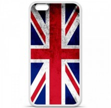Coque en silicone Apple iPhone 6 Plus / 6S Plus - Drapeau Angleterre