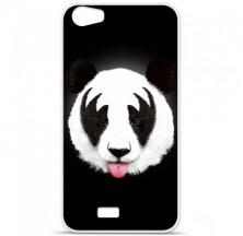 Coque en silicone Wiko Lenny 2 - RF Kiss Of Panda