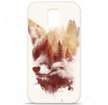Coque en silicone Samsung Galaxy S5 - RF Blind Fox