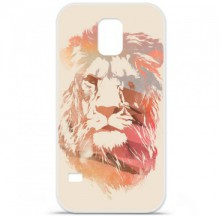 Coque en silicone Samsung Galaxy S5 - RF Desert Lion