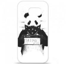 Coque en silicone Samsung Galaxy S6 Edge - BS Bad Panda