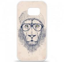 Coque en silicone Samsung Galaxy S6 Edge - BS Cool Lion