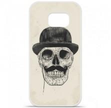Coque en silicone Samsung Galaxy S6 Edge - BS Class skull
