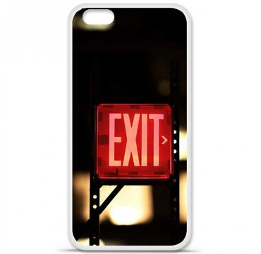 Coque en silicone Apple iPhone 6 Plus / 6S Plus - Exit