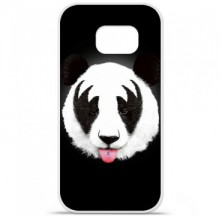 Coque en silicone Samsung Galaxy S6 Edge - RF Kiss Of Panda