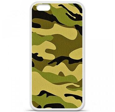 Coque en silicone pour Apple iPhone 6 Plus / 6S Plus - Camouflage