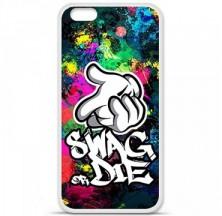 Coque en silicone Apple iPhone 6 Plus / 6S Plus - Swag or die