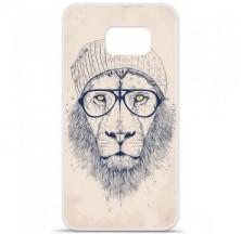 Coque en silicone Samsung Galaxy S6 - BS Cool Lion