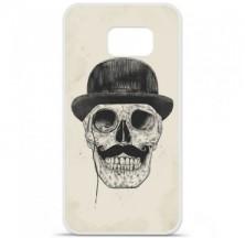 Coque en silicone Samsung Galaxy S6 - BS Class skull